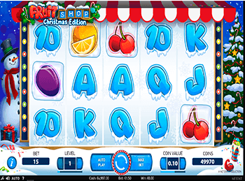 Характеристики слота Fruit Shop 3