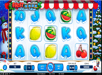 Характеристики слота Fruit Shop 2